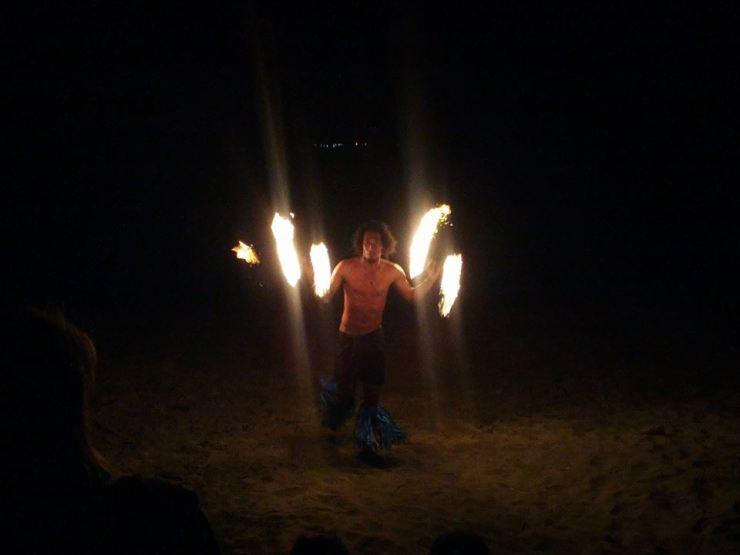 Fire Twirlers 2