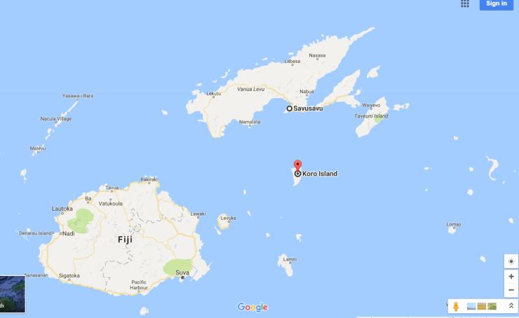 savusavu-fiji-to-koro-island-google-maps
